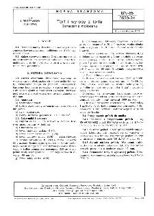 Torf i wyroby z torfu - Oznaczanie molibdenu BN-85/0520-24