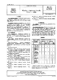 Wyroby z topionego bazaltu - Wymagania i badania BN-70/6791-13