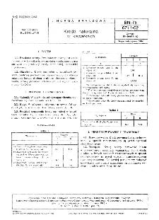 Kreda naturalna w kawałkach BN-75/6711-02