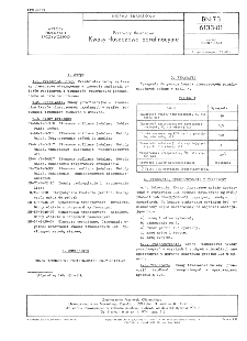 Przetwory tłuszczowe - Kwasy tłuszczowe porafinacyjne BN-73/6133-01