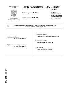 Sposób walcowania poprzecznego narzędziami płaskimi wyrobów typu kula, zwłaszcza z główek złomowanych szyn : opis patentowy nr 215444
