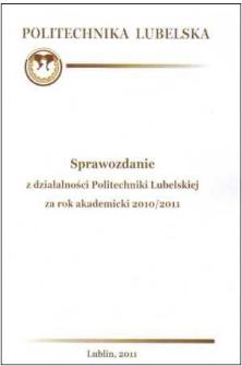 Sprawozdanie z działalności Politechniki Lubelskiej za rok akademicki 2010/2011