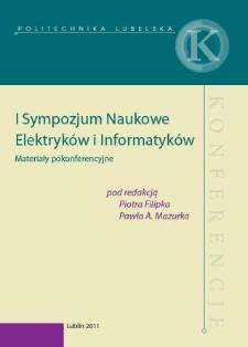 I Sympozjum Naukowe Elektryków i Informatyków : materiały pokonferencyjne