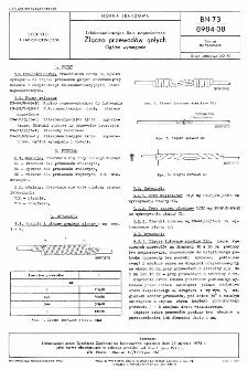 Telekomunikacyjne linie napowietrzne - Złącza przewodów gołych - Ogólne wymagania BN-73/8984-08