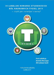 Tygiel'2011 - czyli jak rozwijać naukę?