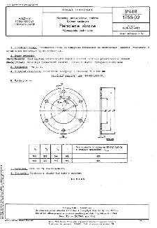Rurociągi podsadzkowe stalowe - Kolana nastawne - Pierścienie skrajne - Wymagania techniczne BN-68/1755-02