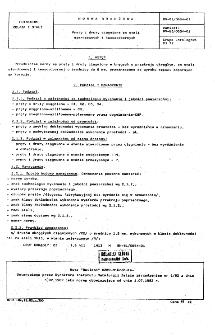 Pręty i druty ciągnione ze stali nierdzewnych i kwasoodpornych BN-81/0654-01