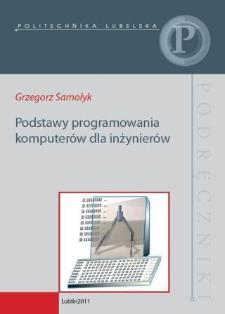 Podstawy programowania komputerów dla inżynierów