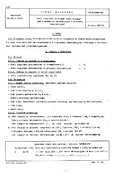 Druty ciągnione ze stopów niklu wytapianych w próżni na termoelementy i przewody kompensacyjne BN-78/0864-06
