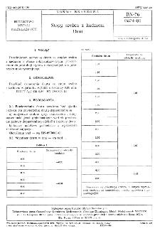 Stopy srebra z kadmem - Drut BN-76/0874-01