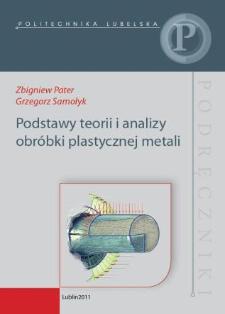 Podstawy teorii i analizy obróbki plastycznej metali