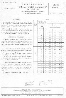 Odlewy z metali nieżelaznych dla lotnictwa - Odchyłki wymiarowe i naddatki na obróbkę skrawaniem BN-86/4004-01