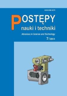 Postępy Nauki i Techniki = Advances in Science and Technology 7/2011