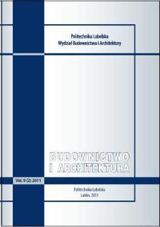Budownictwo i Architektura Vol. 9(2)2011
