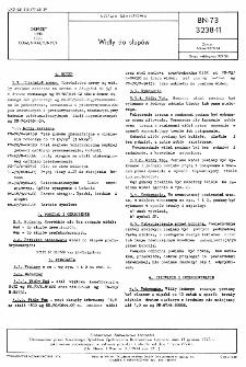 Widły do słupów BN-73/3238-11