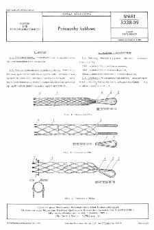 Pończochy kablowe BN-81/3238-09