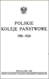 Polskie Koleje Państwowe 1918-1928