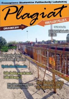 Plagiat : czasopismo Studentów Politechniki Lubelskiej nr 13 ( 2011)