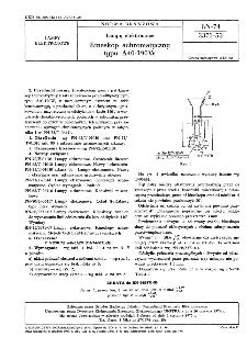 Lampy elektronowe - Kineskop achromatyczny typu A40-190 W BN-74/3371-53.