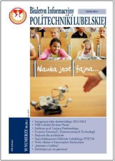 Biuletyn Informacyjny Politechniki Lubelskiej nr 28 - 3(28)2011