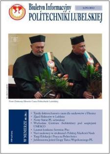 Biuletyn Informacyjny Politechniki Lubelskiej nr 29 - 1(29)2012