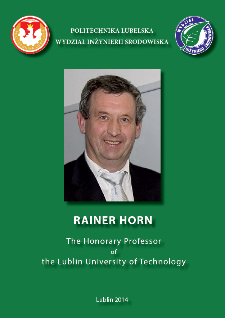 Rainer Horn : The Honorary Professor of the Lublin University of Technology