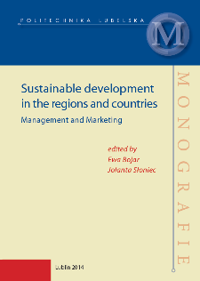 Sustainable development in the regions and countries : management and marketing