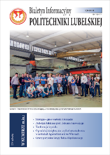 Biuletyn Informacyjny Politechniki Lubelskiej nr 35 - 1(35)2014