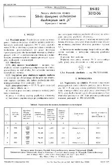 """Maszyny elektryczne wirujące - Silniki dźwigowe cichobieżne dwubiegowe serii """"h"""" - Wymagania i badania BN-82/3012-06"""