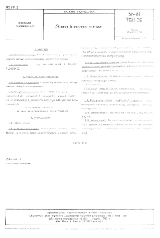 Słoma konopna surowa BN-81/7511-08