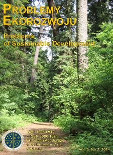 Problemy Ekorozwoju : studia filozoficzno-sozologiczne Vol. 9, Nr 2, 2014
