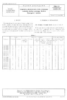Urządzenia zabezpieczenia ruchu kolejowego - Latarnia końca pociągu ELN-8 - Wymagania i badania BN-81/3506-36