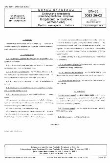 Elektryczne urządzenia przeciwwybuchowe okrętowe - Urządzenia o budowie wzmocnionej - Ogólne wymagania i badania BN-88/3083-26/02