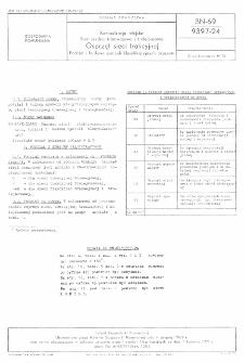 Komunikacja miejska - Sieć jezdna tramwajowa i trolejbusowa - Osprzęt sieci trakcyjnej - Podział i budowa symboli klasyfikacyjnych osprzętu BN-69/9397-24