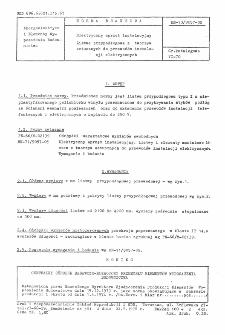 Elektryczny sprzęt instalacyjny - Listwa przypodłogowa z tworzyw sztucznych do przewodów instalacji elektrycznych BN-73/9057-08