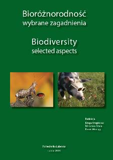 Bioróżnorodność : wybrane zagadnienia = Biodiversity : selected aspects