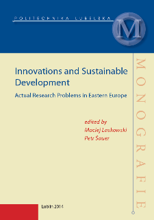 Innovations and sustainable development : actual research problems in Eastern Europe