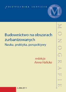Budownictwo na obszarach zurbanizowanych : nauka, praktyka, perspektywy