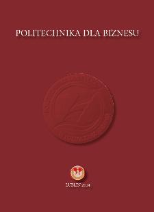 Politechnika dla biznesu : Wydział Zarządzania