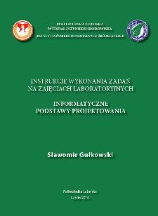 Informatyczne podstawy projektowania : instrukcje wykonania zadań na zajęciach laboratoryjnych
