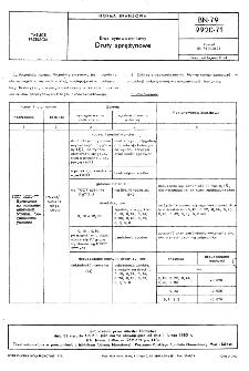 Brąz cynowo-cynkowy - Druty sprężynowe BN-79/9920-71
