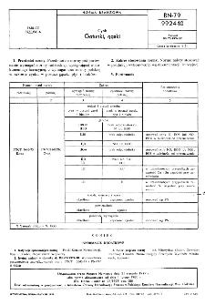 Cynk - Gatunki, gąski BN-79/9924-10