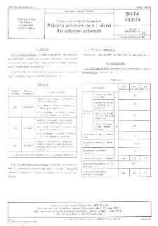 Odlewnicze materiały formierskie - Pokrycia ochronne form i rdzeni dla odlewów żeliwnych BN-74/4021-14