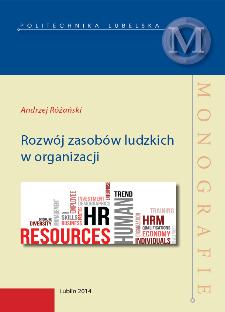 Rozwój zasobów ludzkich w organizacji
