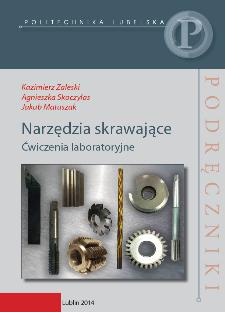 Narzędzia skrawające : ćwiczenia laboratoryjne