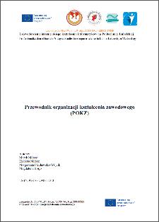 Przewodnik organizacji kształcenia zawodowego (POKZ)