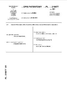 Sposób wytwarzania płyty z tworzywa polimerowego i płyta wytwarzana tym sposobem : opis patentowy nr 218877