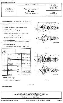 Wozy średnie resorowane - Sprzęgi - Podstawowe parametry BN-82/1723-20