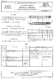 Obudowa metalowa - Stropnice członowe strzemionowe SCG-90-3 BN-80/0432-19