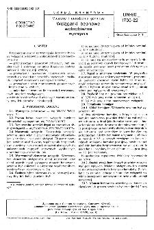 Maszyny i urządzenia górnicze - Wciągarki bębnowe wolnobieżne - Wymagania BN-90/1705-22